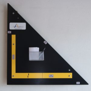 Calibration Station: validate calibration of tape measures, levels and squares