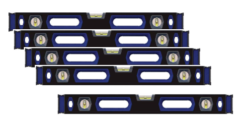Calibrated Levels Box Beam