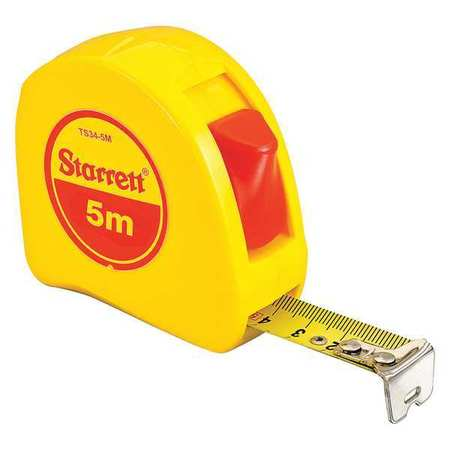 5m Starret calibrated tape measure